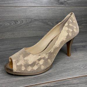 ALEX MARIE Rose Gold Heels women's size 9M